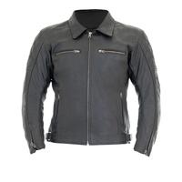 RST Cruz II Leather Ladies Jacket Black