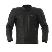 RST Interstate III Leather Jacket Black