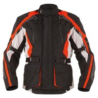 RST Rallye Textile Jacket Black/Fluro Red