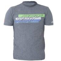 RST Speed Lines T-Shirt Gunmetal/Green