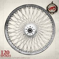 Ride Wright Traditional 120 Spoke Wheel - 21x2.15 - Front