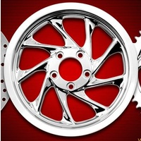 "Renegade Wheels RW-WHI-13872 Whistler 1-3/8""x72T Pulley V-Rod'01-06 (Exc SE V-Rod)"