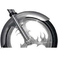 "Russ Wernimont Design RWD-1401-0170 Fender Front Long Flared Fender 4.5"" Wide for 21"" Wheel"