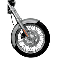"""Russ Wernimont Designs RWD-50077 4-3/4"""" Wide Long OCF Front Fender for Mid-Glide Dyna w/19"""" Front Wheel"""