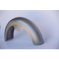 """Russ Wernimont Designs RWD-50115 6"""" Wide Round Cut Long OCF Front Fender for FL Softail 86-17 w/23"""" Front Wheel"""