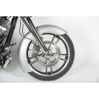 """Russ Wernimont Designs RWD-50139 6"""" Wide Straight Cut LS-2 Front Fender for Touring 14-Up w/19"""" Front Wheel"""