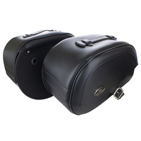 Saddlemen SAD-3501-0505 Rigid Teardrop Drifter Saddlebags for Yamaha V-Star XVS650 00-16