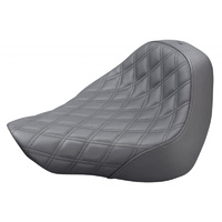 Saddlemen SAD-818-31-002LS Renegade LS Solo Seat w/Black Double Diamond Lattice Stitch for FXBR 18-Up