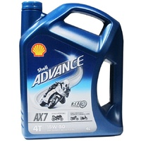 Shell Advance AX7 15W-50 Synthetic Based Oil MA2 4L