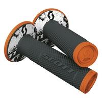 Scott SX II Grips w/Donuts Orange/Black