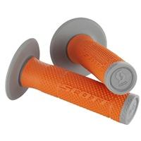 Scott SX II Grips w/Donuts Orange/Grey