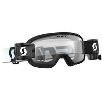 Scott Buzz MX Pro WFS Goggle Black/White w/Clear Works Lens
