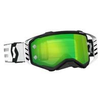 Scott Prospect Goggles Black/White w/Green Chrome Works Lens