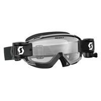 Scott Split OTG WFS Goggle Black/White w/Clear Works Lens