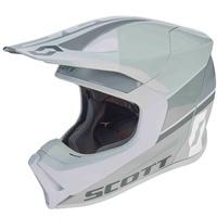 Scott 550 Split Helmet White/Grey