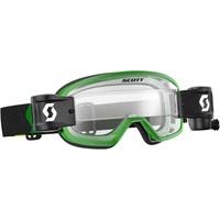 Scott Buzz MX Pro WFS Goggle Green/Black w/Clear Works Lens Lens