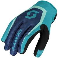 Scott 350 Dirt Gloves Blue/Blue