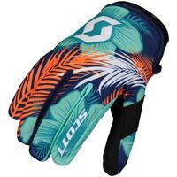 Scott 250 Swap Kids Gloves Blue/Yellow