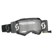 Scott Fury WFS Goggles Clear Lens Black