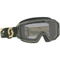 Scott Primal Enduro Goggles Camo Kaki w/Clear Lens