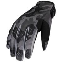Scott 350 Camo Gloves Black/Grey