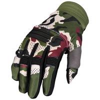 Scott X-Plore Gloves Green Tan