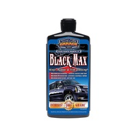 Surf City Garage SCG-127 Black Max Vinyl Rubber & Trim Dressing (16oz) Bottle