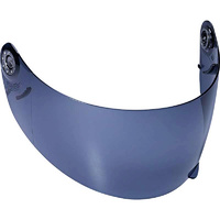 Shark Iridium Blue Visor for S600/S650/S700/S800/S900/Openline/Ridill Helmets