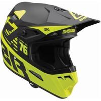 Answer 2022 AR1 Bold Youth Helmet Hyper Acid/Black