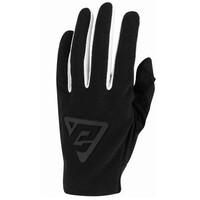 Answer 2022 Aerlite Youth Gloves Black/White