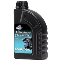 Silkolene V-Twin 80W-90 Mineral Engine Oil 1L