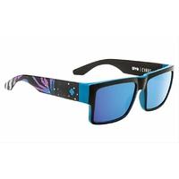 Spy Optic Cyrus Sunglasses 2015 Livery w/Happy Bronze/Light Blue Spectra Lens