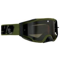 Spy Optic Foundation Plus MX Goggle Reverb Olive w/HD Smoke Lens