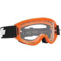 Spy Optic Breakaway MX Goggle Orange w/HD Clear Lens & Posts