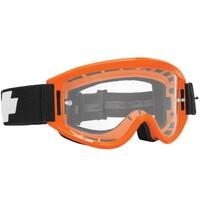 Spy Optic Breakaway MX Goggle Orange w/HD Clear Lens & Posts