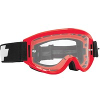 Spy Optic Breakaway MX Goggle Red w/HD Clear Lens & Posts
