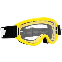 Spy Optic Breakaway MX Goggle Yellow w/Clear Anti-Fog Lens & Posts
