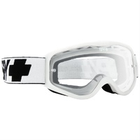 Spy Optic Cadet MX Goggle White w/Clear Anti-Fog Lens
