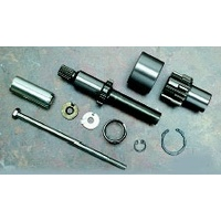 Spyke SPY-465046 Jackshaft Assembly w/9T Pinion Gear for OEM 66T Starter Ring for Big Twin 89-93 Models