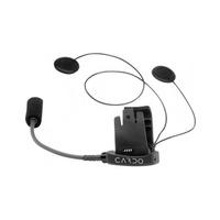 Cardo Half Helmet Audio & Microphone Kit for Q2/TEAMSET/SOLO