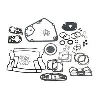 "S&S Cycle SS106-1020 Engine Gasket Kit for 4"" Bore Big Twin 84-99"