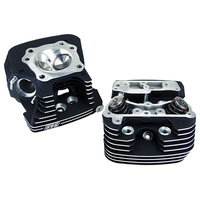 S&S Cycle SS106-3240 Head Kit 89cc Black Twin Cam'06up & '08up Touring Fly-By-Wire (Pair)