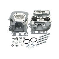 S&S Cycle SS106-3255 Head Kit 89cc Silver Twin Cam'06up & '08up Touring Fly-By-Wire (Pair)
