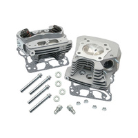 S&S Cycle SS106-4270 Super Stock 89cc Cylinder Head Kit Silver TC88 '99-05