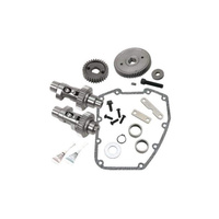 S&S Cycle SS106-4850 640GE Easy Start Gear Drive Camshaft Kit Big Twin 07-11 & FXD 06-11 EASY START GEAR Drive