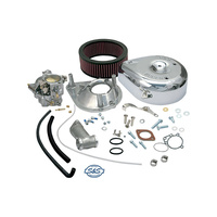 S&S Cycle SS11-0401 Super E Shorty Carburettor Kit Big Twin'41-65 Knucklehead & Panhead