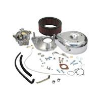S&S Cycle SS11-0418 Super E Complete Carburettor Kits w/No Mainfold Shovelhead 66-82