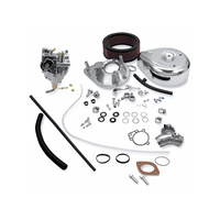 S&S Cycle SS11-0450 Super E Shorty Carburettor Kit Twin Cam'99up