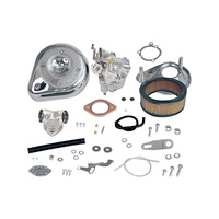 S&S Cycle SS11-0470 Super E Shorty Carburettor Kit XL'04-06 OEM Cables