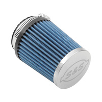 S&S Cycle SS17-1023 Induction System Replacement Filter Blue